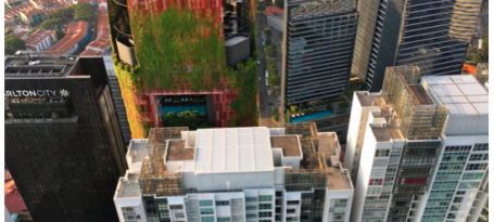 sky view of Tanjong Pagar CDB commercial property