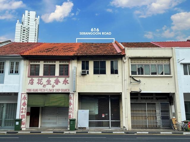city fringe shophouse